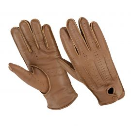 GLOVES ORIGINAL DRIVER NAPPA CACHEMIRE CAMEL/MARRON