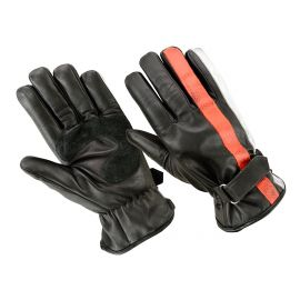 ORIGINAL DRIVER GLOVES - BLACK WHITE ORANGE NATION