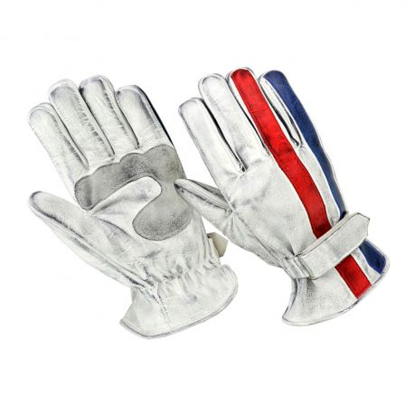 GANTS ORIGINAL DRIVER - NATION BLEU BLANC ROUGE