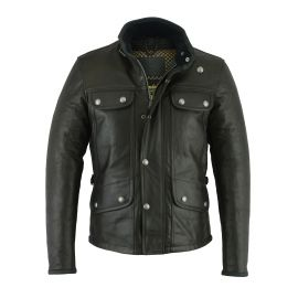 THE MONTE CARLO CUIR (Black) JACKET - ORIGINAL DRIVER
