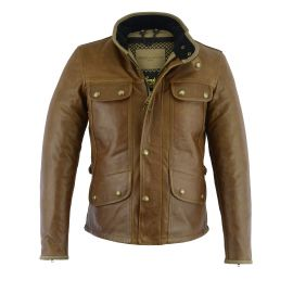 THE MONTE CARLO CUIR (Cognac) JACKET - ORIGINAL DRIVER