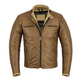 ORIGINAL DRIVER JACKET - LE SAINT GERMAIN COGNAC
