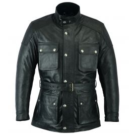 LA SAHARAN LEATHER JACKET - ORIGINAL DRIVER