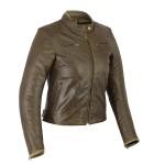 Veste moto pour femme en cuir - Le Marion