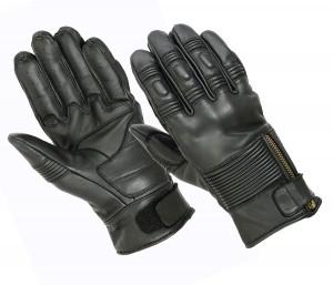 Gants moto Fulgur II - Cuir et coque de protection